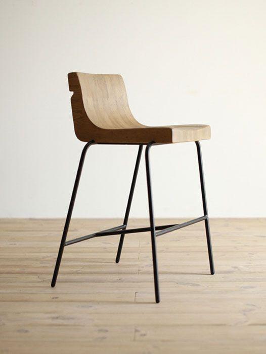 ghế chân sắt mặt gỗ giá rẻ