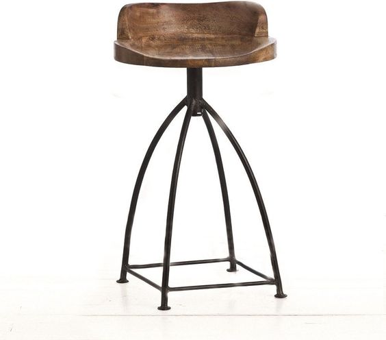bàn ghế gỗ chân sắt giá rẻ