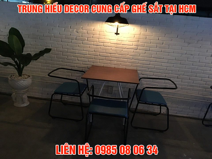 ghế sắt cafe cao cấp nhất hcm