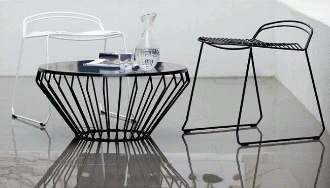 mẫu ghế sắt cafe đẹp nhất HCM