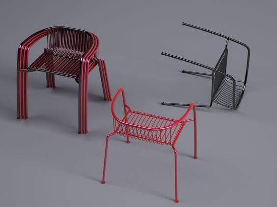 ghế sắt cafe nhà hàng hcm