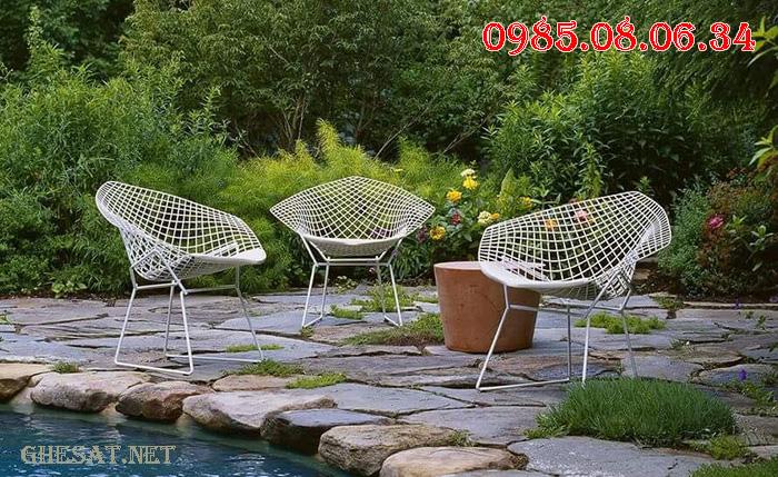 ghế sắt đà nẵng đẹp bền