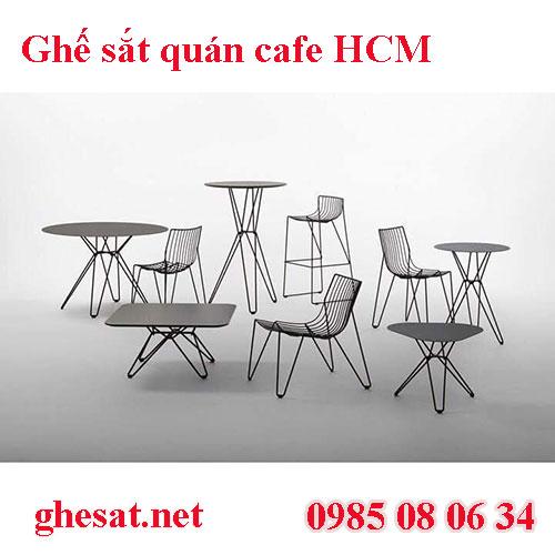 Ghế sắt quán cafe hcm