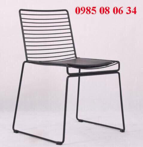 ghế sắt hcm được thiết kế tinh xảo