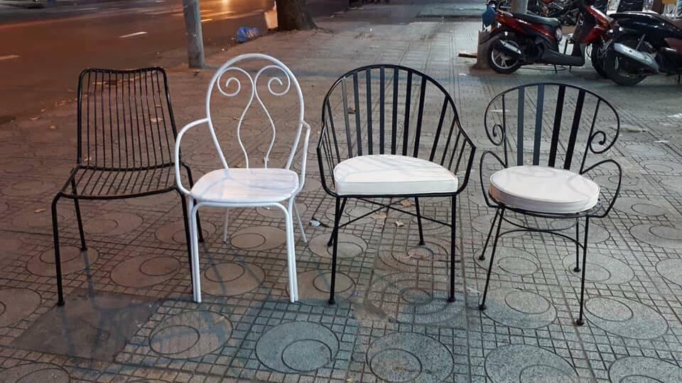 ghế sắt giá rẻ quận 2