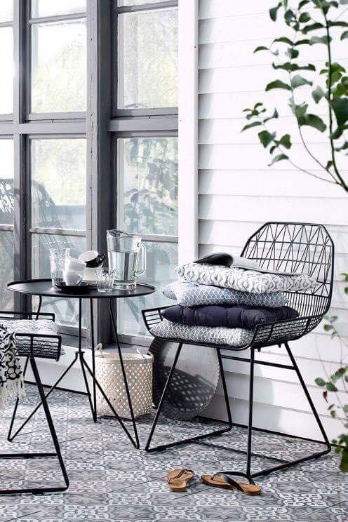 ghế sắt nhà hàng sấn vườn HCM