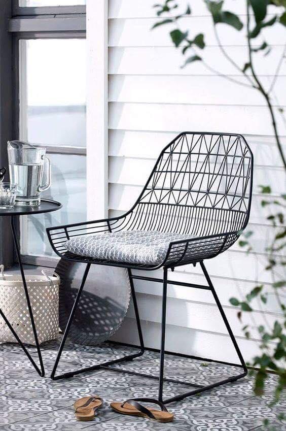 ghế sắt nhà hàng sân vườn chất lượng
