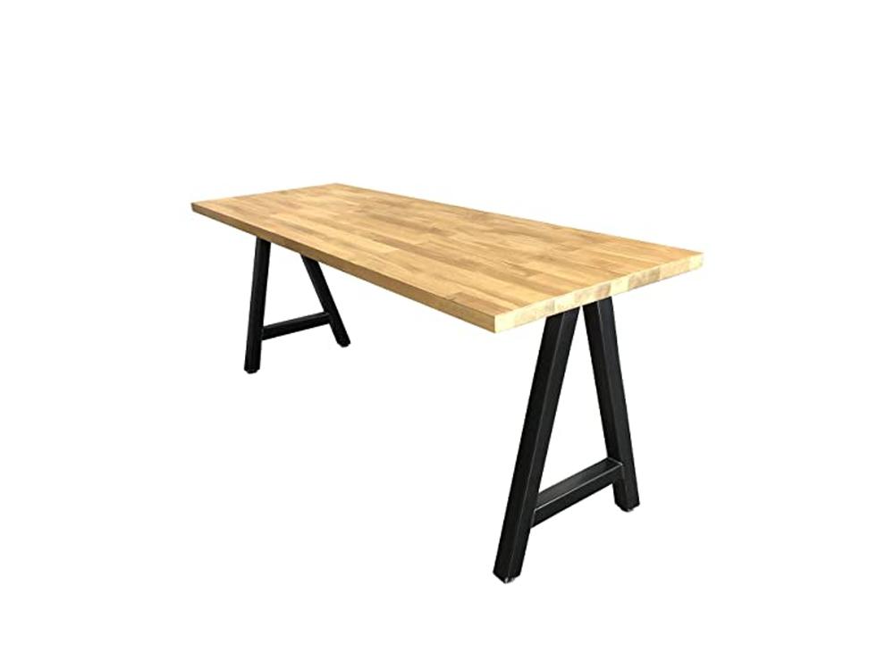 Mẫu bàn chân sắt mặt gỗ thiết kế dành riêng cho nhà hàng