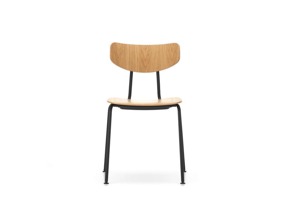 Ghế sắt mặt gỗ 902 với phong cách đơn giản mà tinh tế