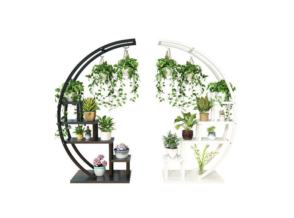 Thiết kế dạng vòng cung độc đáo của sản phẩm kệ đặt hoa được rất nhiều người ưa chuộng