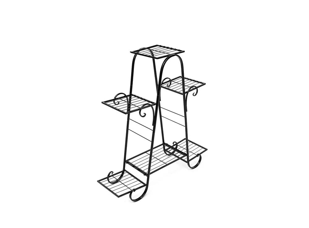 Kệ sắt 902 được thiết kế nhỏ gọn với nhiều tầng